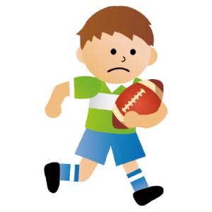 子どもがラグビーやっております